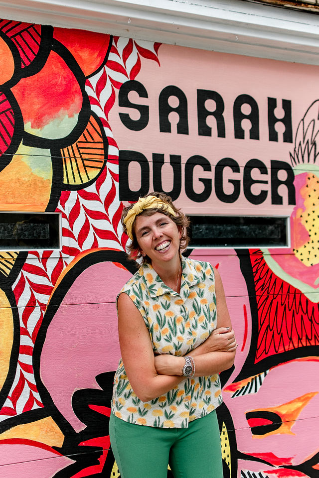 Sarah Dugger Painter Textile Designer bio